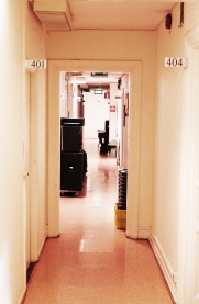 Studios Hallway, Photo: Jeppa Sollén