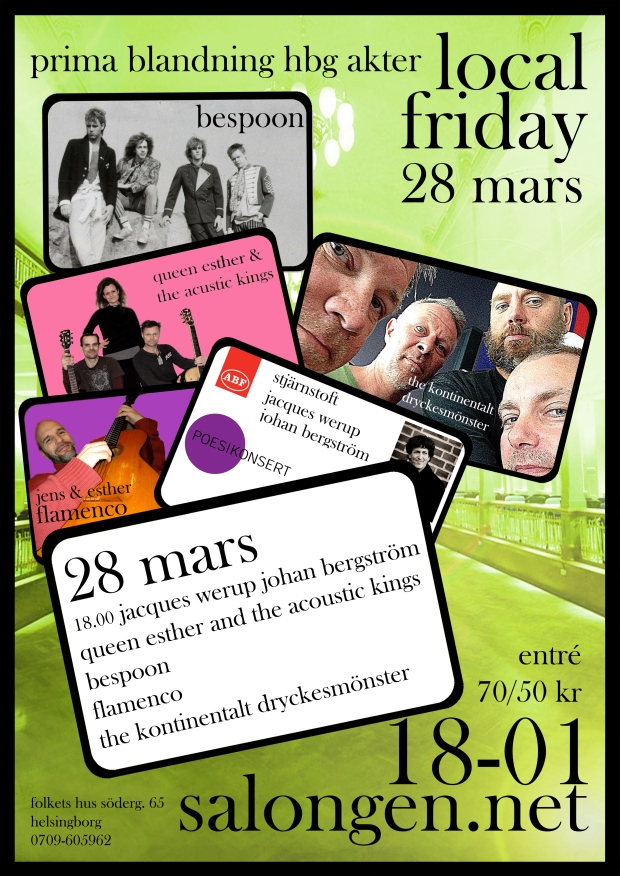 local friday 28 mars  details