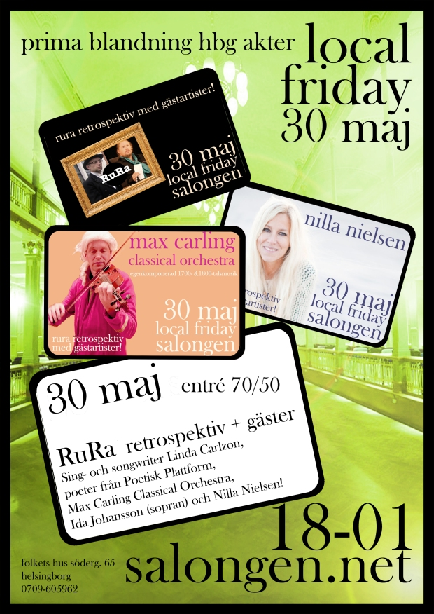 local friday 30 maj  details