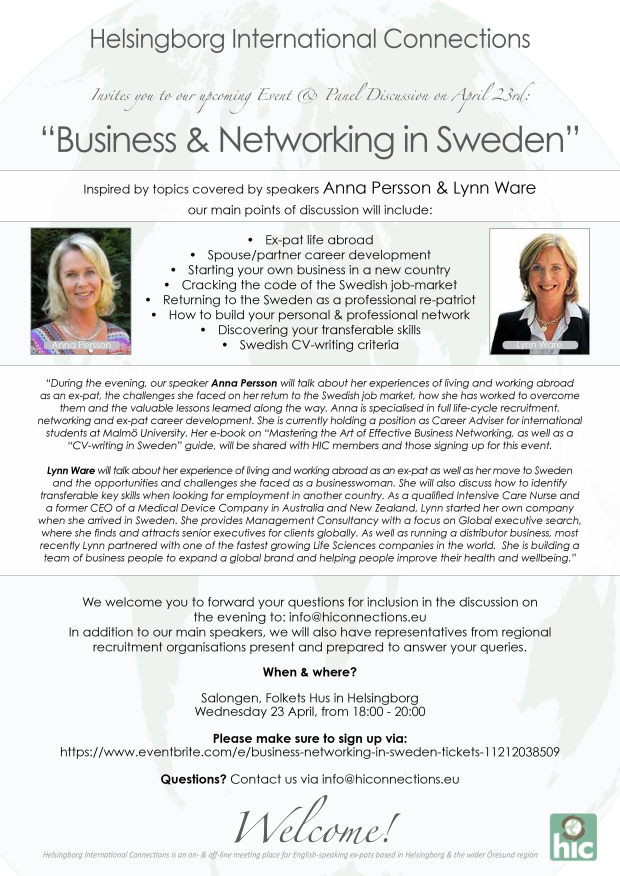Invite_Business & Networking in Sweden