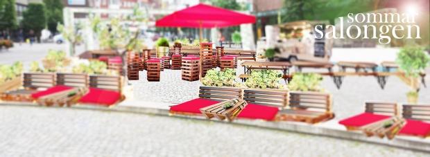 bank pall röd parasoll fbtext