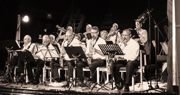Viken Big Band på Salongen invigning