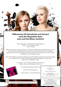 Konsert och Skivsläpp HBG